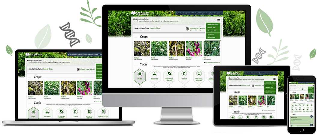 KnowPulse: Pulse Crop Data at Your Fingertips